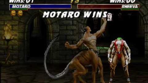 Mortal Kombat Trilogy (N64) - Fatality 1 - Motaro
