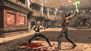 Mortal Kombat 2011 Sonya Blade Nightwolf 1