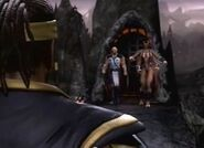 Cyrax sheeva and Baraka