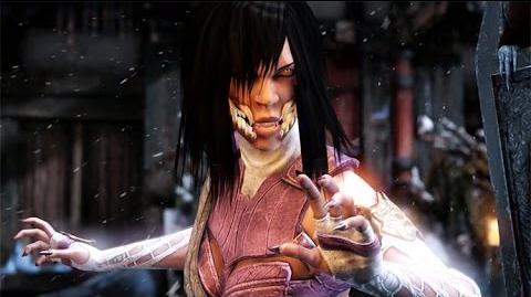 Mortal Kombat X - Mileena All Interaction Dialogues