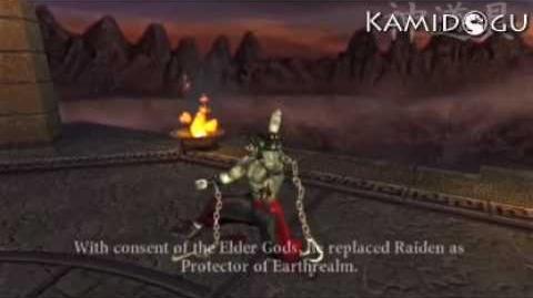 Mortal Kombat Armageddon Liu Kang's Ending