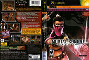 Mortal Kombat Deception Kollectors Edition Sleeve 002