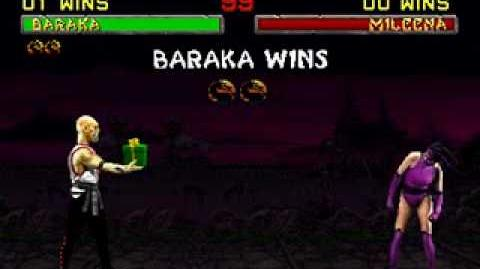 Mortal Kombat II - Friendship - Baraka