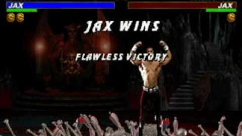 Mortal Kombat Trilogy - Brutality - Jax (MKII)