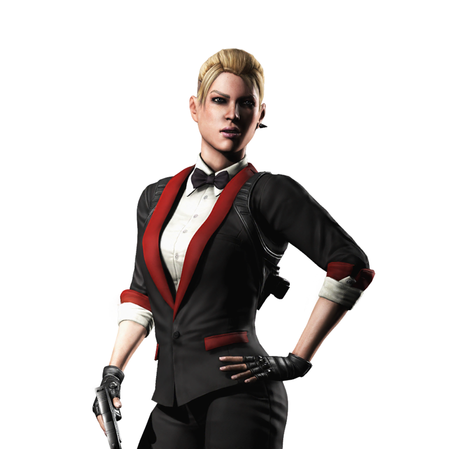 Mortal Kombat X Ios Cassie Cage Render 5 By