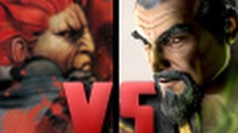 DEATH BATTLE! - Akuma VS Shang Tsung