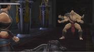 Goro vs Kung Lao