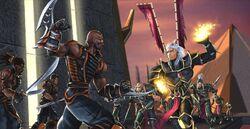 The Seidan Resistance vs. the Seidan Guard
