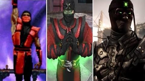 Ermac All Victory Poses - UMK3 to MKX