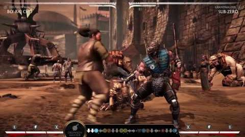 Mortal Kombat XL Kombat Class - Bo' Rai Cho