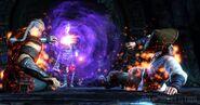 MKX Raiden and Shinnok 1