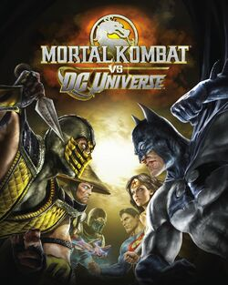 Mortal Kombat vs. DC cover