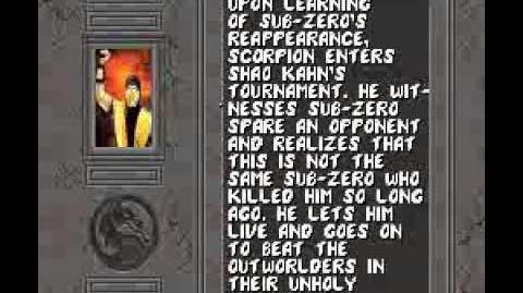 13. Mortal Kombat 2 - SCORPION ENDING