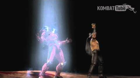 "MK9 Nightwolf ""Ascension"" Fatality"