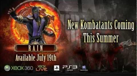 Rain HD Gameplay Trailer - Mortal Kombat