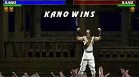 Mortal Kombat Trilogy - Brutality - Kano (MK1)
