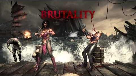Mileena Brutality 2 - Tele-Splat