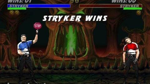 Mortal Kombat 3 - Friendship - Stryker