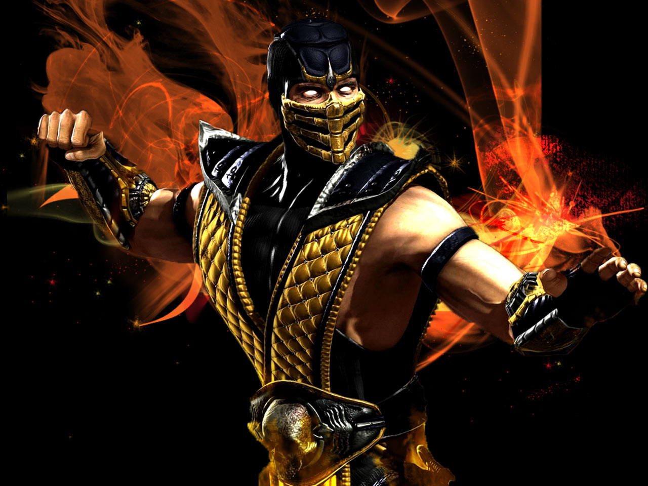 image - mortal-kombat-scorpion-1280x960-wallpaper | mortal