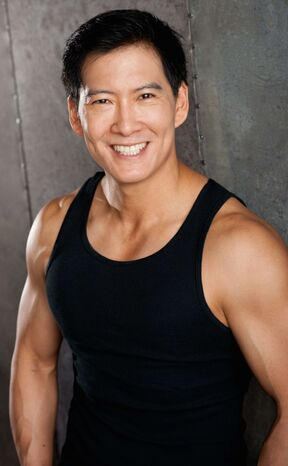 Vic Chao smiling tank top