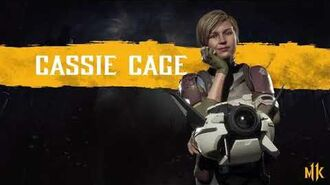 Mortal Kombat 11 Cassie Cage Voice Sounds and SFX Download