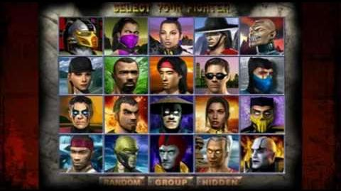 Choose Your Fighter - The Evolution of the Mortal Kombat Select Screen.