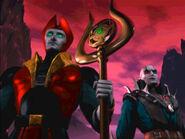 Shinnok and Quan Chi
