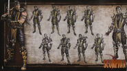 MK9 Artbook - Scorpion 1
