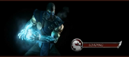 MKDA Sub-Zero Loading Screen