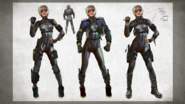 MKX Cassie Concept Art 3