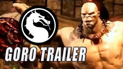 GORO - DLC Gameplay Trailer Mortal Kombat X