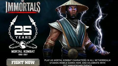 WWE Immortals - Trailer Xavier Woods as Raiden (iOS e Android)