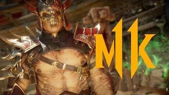 Mortal Kombat 11 - Official Shao Kahn Reveal Trailer