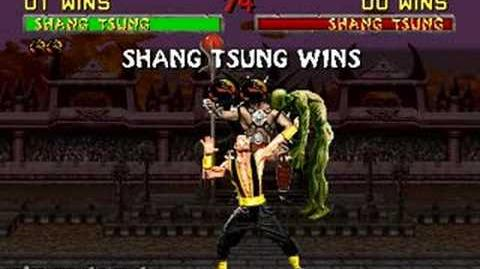 Mortal Kombat II - Fatality 3 - Shang Tsung