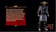 MK 2011 Raiden's Character Bio