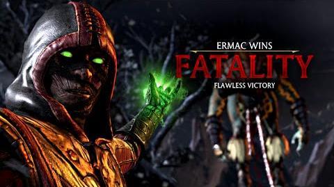 "MORTAL KOMBAT X · Ermac ""Inner Workings"" Fatality -HD- 60fps - MKX"