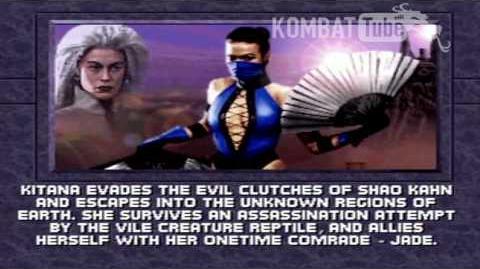 MK III Ending KITANA