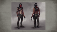 MKX Erron Black Concept Art 5