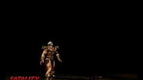 Mortal Kombat Deception Shao Kahn Fatality
