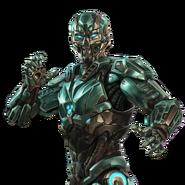 Mortal Kombat X IOS Cyber Sub-Zero render 4