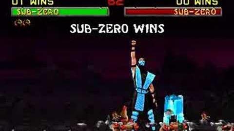 Mortal Kombat II - Fatality 1 - Sub-Zero