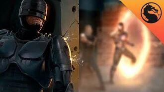 Mortal Kombat 11 Aftermath RoboCop's Ending