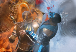 Scorpion VS Sub Zero MK 9 by Khaluow