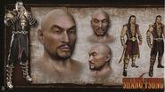 MK9 Artbook - Shang Tsung 1