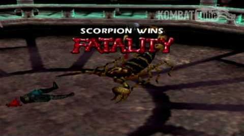 "Gold Scorpion ""Animal"" Fatality"