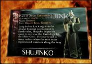 Shujinko kard