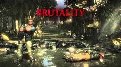 Johnny Cage Brutality 1 - Eye Popping