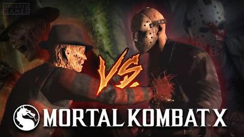 Mortal Kombat X Mobile- FREDDY VS JASON!!!
