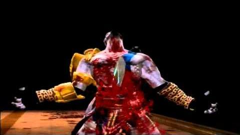 MK9 Kratos Fatality 1