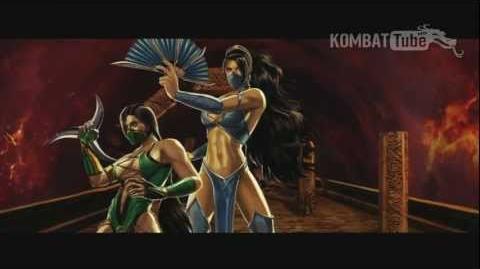 MK9 Ending KITANA